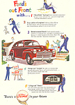 Click here to enlarge image and see more about item ad0412: Ford in your Future 1946 Ad