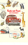 Click here to enlarge image and see more about item ad0415: Ford in your Future 1946 Ad