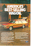 Click here to enlarge image and see more about item ad0420: Ford Fairmont  Wagon Ad ad0420