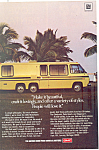 Click here to enlarge image and see more about item ad0421: GMC Motorhome Ad ad0421