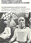 Click here to enlarge image and see more about item ad0427: General Motors Don Trite's Crash Dummy  Ad