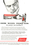 Click here to enlarge image and see more about item ad0435: America Fore Loyalty Group Security  Ad