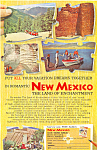 Click here to enlarge image and see more about item ad0439: New Mexico Land of Enchantment  Ad ad0439