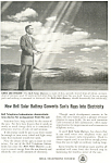 Bell Telephone Solar Battery  Ad