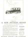 Click here to enlarge image and see more about item ad0448: Hudson Motor Car Company Sedan Ad