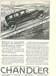 Chandler-Cleveland Motors Corporation 1927 Ad