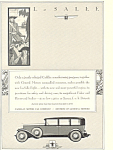 Click here to enlarge image and see more about item ad0456: La Salle 1930 Ad