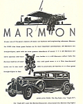 Click here to enlarge image and see more about item ad0458: Marmon Big Eight 1930 Ad