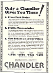 Click here to enlarge image and see more about item ad0468: Chandler 1924 Ad ad0468