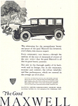 Click here to enlarge image and see more about item ad0469: Maxwell 1922 Ad ad0469