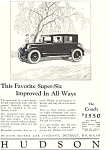 Click here to enlarge image and see more about item ad0471: Hudson Super Six 1924 Ad ad0471