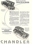 Click here to enlarge image and see more about item ad0472: Chandler 1924 Ad ad0472
