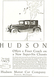Click here to enlarge image and see more about item ad0474: Hudson Coach 1924 Ad
