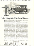 Click here to enlarge image and see more about item ad0476: Jewett Six 1924 Ad