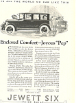 Click here to enlarge image and see more about item ad0478: Jewett Six 1924 Ad