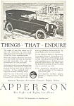 Click here to enlarge image and see more about item ad0479: Apperson Eight 1920 Ad ad0479