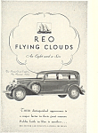 Click here to enlarge image and see more about item ad0483: Reo Flying Clouds Eight and Six 1931 Ad