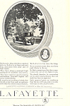 Click here to enlarge image and see more about item ad0485: Lafayette 1920 Ad ad0485