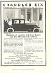 Click here to enlarge image and see more about item ad0486: Chandler 1920 Ad ad0486