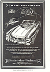 Click here to enlarge image and see more about item ad0489: Mercedes Benz 300sl 1957 Ad