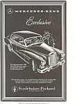 Click here to enlarge image and see more about item ad0490: Mercedes Benz 300d 1958 Ad
