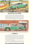 Click here to enlarge image and see more about item ad0493: Travelall International Harvester 1964 Ad ad0493