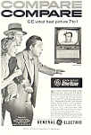 Click here to enlarge image and see more about item ad0494: General Electric TV Ray Milland Ad