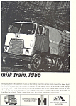 Click here to enlarge image and see more about item ad0495: International Harvester Trucks 1965 Ad