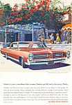 Click here to enlarge image and see more about item ad0499: Pontiac Wide Track  1964 Ad