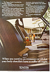 Click here to enlarge image and see more about item ad0503: Toyota Mark II Ad ad0503