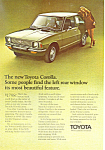 Click here to enlarge image and see more about item ad0504: Toyota Corolla  Ad ad0504