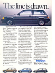 Click here to enlarge image and see more about item ad0513: Honda Civic 1984 Full Line Ad