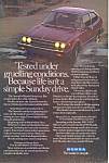 Click here to enlarge image and see more about item ad0519: Honda Accord 1981 Ad