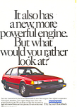 Click here to enlarge image and see more about item ad0520: Honda Accord Hatchback 1984 Ad