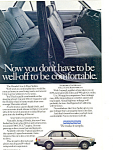 Click here to enlarge image and see more about item ad0521: Honda Civic 4-Door Sedan 1980 Ad