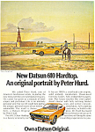 Click here to enlarge image and see more about item ad0526: Datsun 610 Hardtop 1973 Ad ad0526