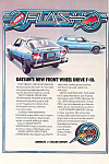 Click here to enlarge image and see more about item ad0531: Datsun F-10 Hatchback and Sportwagon Ad