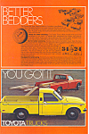 Click here to enlarge image and see more about item ad0536: Toyota Trucks Full Line 1977   Ad ad0536