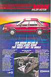 Click here to enlarge image and see more about item ad0538: Nissan Maxima GL   Ad