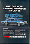 Click here to enlarge image and see more about item ad0541: Pontiac Bonneville  Ad 1983 ad0541