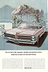 Click here to enlarge image and see more about item ad0545: Pontiac Bonneville Ad 1965 ad0545