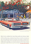 Click here to enlarge image and see more about item ad0547: Pontiac Bonneville 2-Door Hardtop Ad 1964