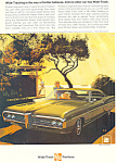 Click here to enlarge image and see more about item ad0549: Pontiac Bonneville 2 Door Hardtop Ad 1968 ad0549