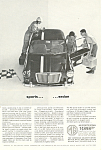 Click here to enlarge image and see more about item ad0552: MG Sports Sedan Ad