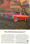 Click here to enlarge image and see more about item ad0557: Pontiac LeMans Hardtop  Ad 1961 ad0557