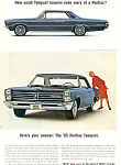 Click here to enlarge image and see more about item ad0558: Pontiac Tempest  Ad 1965 ad0558