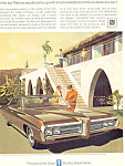 Click here to enlarge image and see more about item ad0559: Pontiac Bonneville 4-Door Hardtop Ad 1969