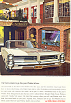 Click here to enlarge image and see more about item ad0567: Pontiac Bonneville 2-Door Hardtop Ad 1964