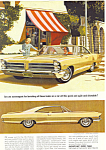 Click here to enlarge image and see more about item ad0568: Pontiac  2-Door Hardtop Ad 1964