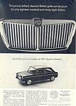 Click here to enlarge image and see more about item ad0572: MG Sports Sedan  Ad November 1963